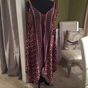 47e41561c74 Mlle Gabrielle Dresses - Plus Size Tribal SunDress by mlle Gabrielle